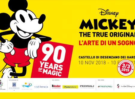 Desenzano – Mickey 90: La mostra sui 90 anni di Topolino